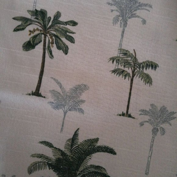 Other - Palm tree upholstery fabric